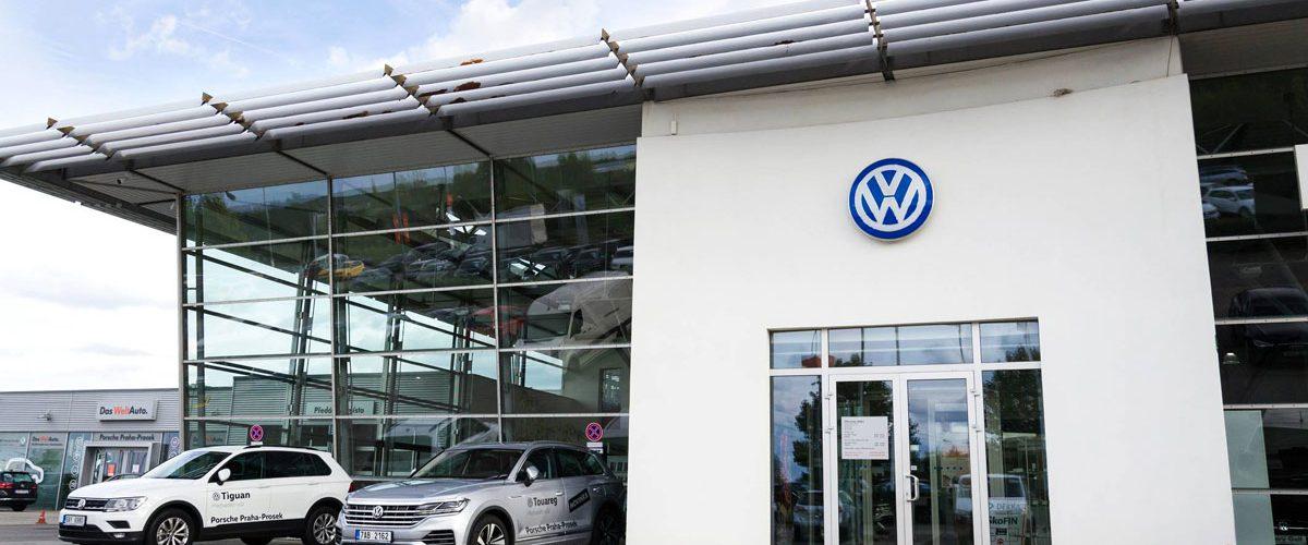 Une concession Volkswagen où l'on peut acheter une voiture au meilleur prix