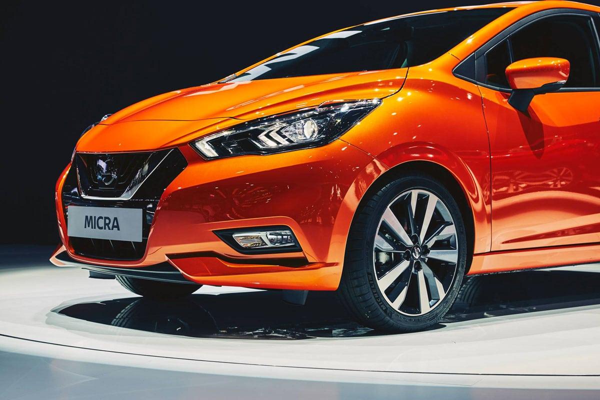 Une Nissan neuve en vente par un mandataire Nissan