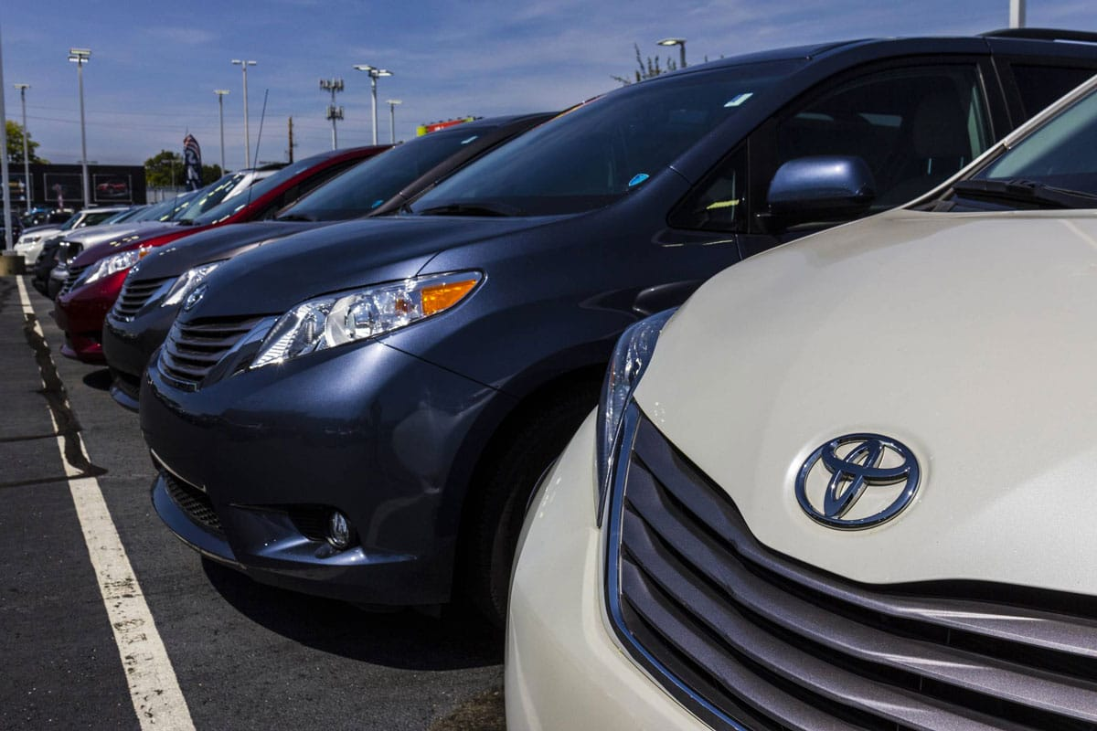 Les Toyota neuves en stock