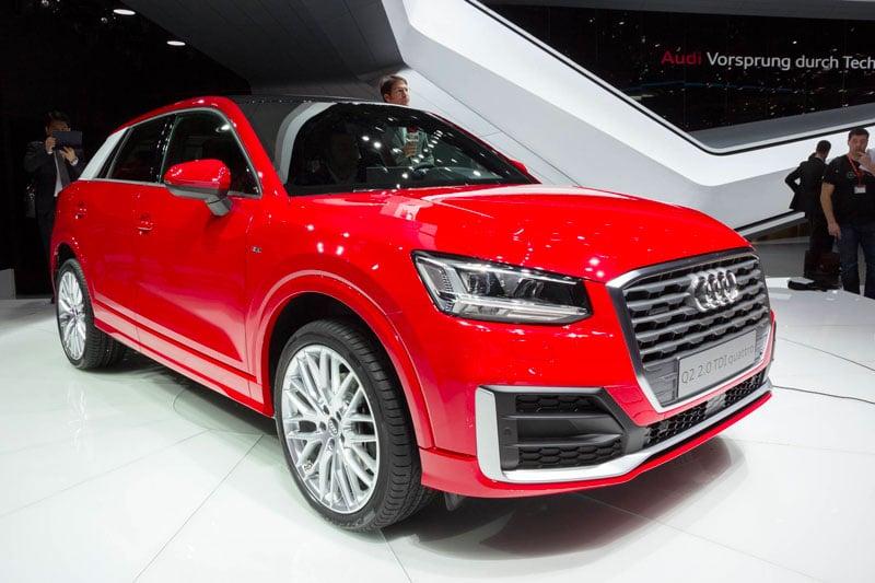 Présentation de l'Audi Q2