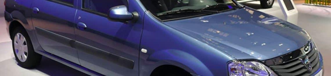 La gamme de voiture Dacia
