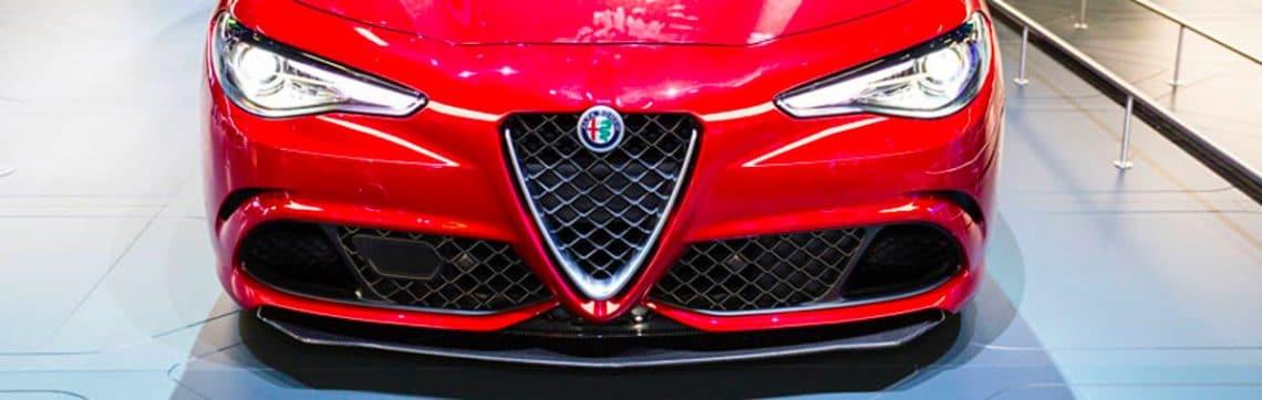 Gamme d'Alfa Roméo