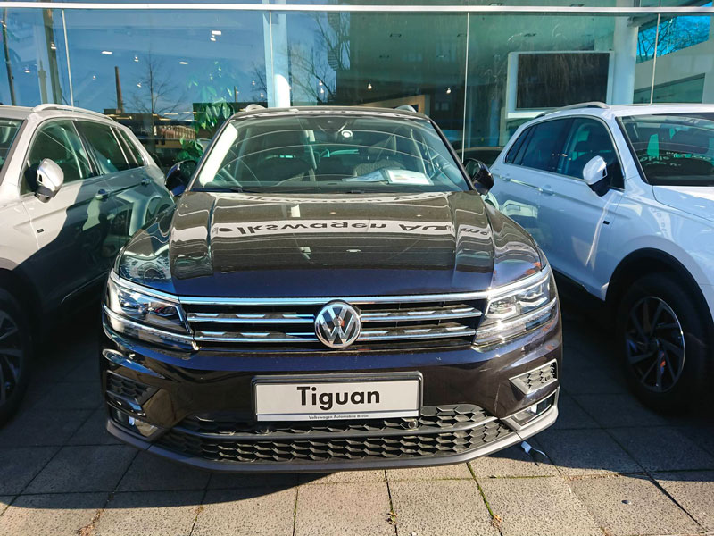 Concessionaire Volkswagen modèle Tiguan