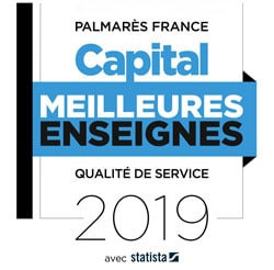 Label meilleures enseignes de transport par Capital