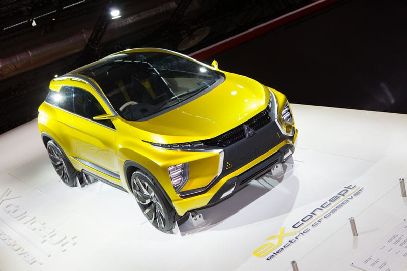 Mitsubishi neuve sur stand