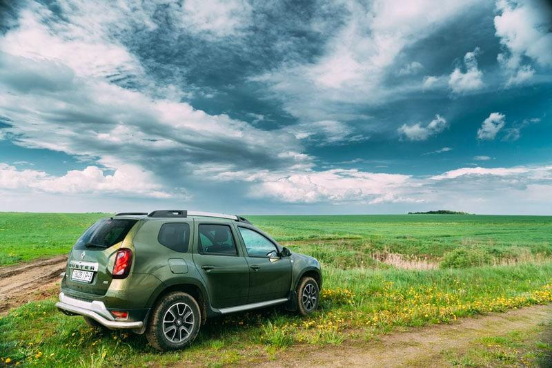 Dacia sur tous les terrains