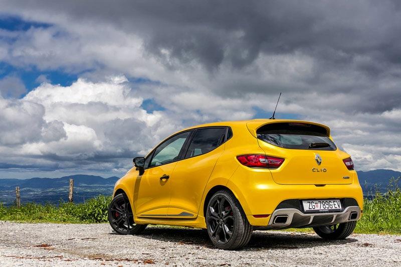 Clio 4 sportive et dynamique