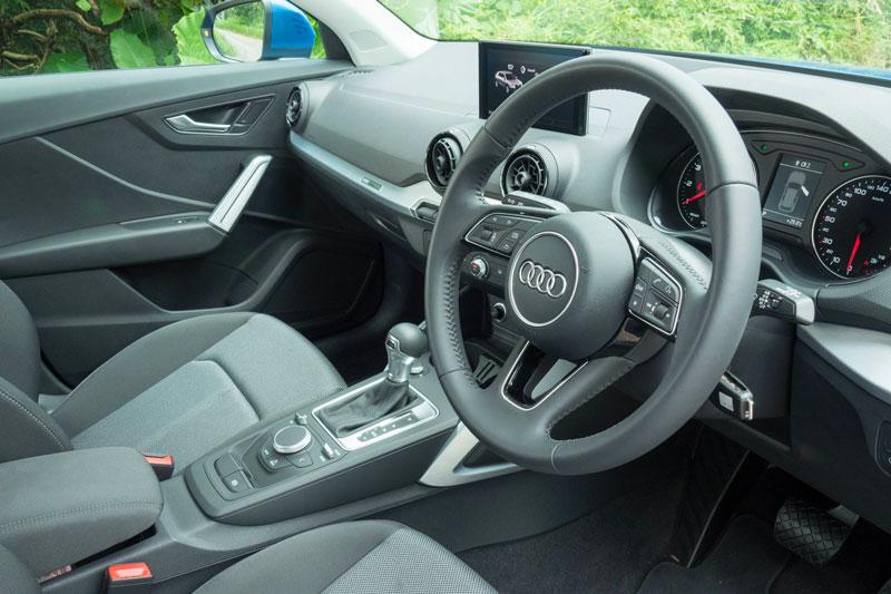 Intérieur de l'Audi Q2