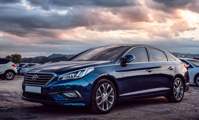 Modèle Hyundai en concession