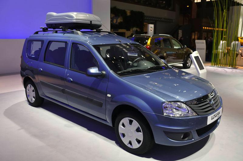 Exposition de voiture Dacia