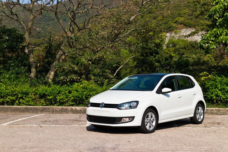 Nouvelle Volkswagen Polo blanche