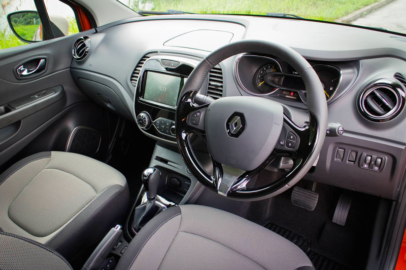 Intérieur d'un Renault Captur