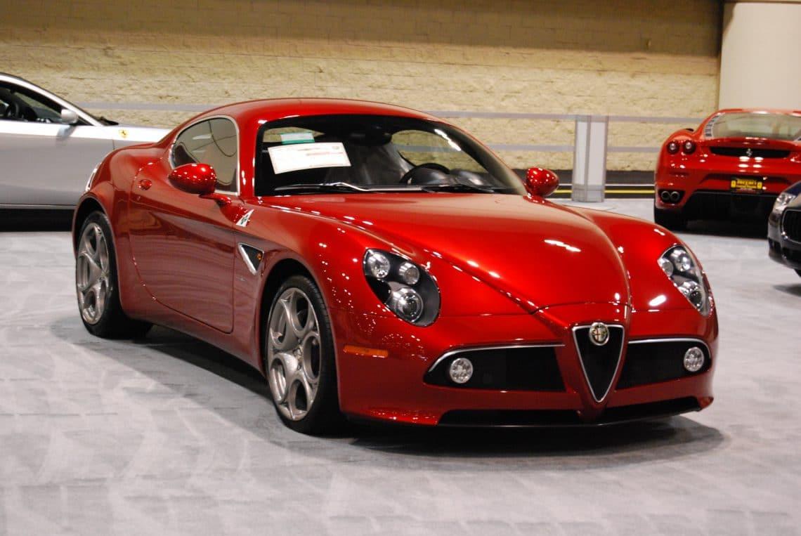 L'Alfa Romeo 8C