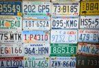 Des plaques de voitures étrangères qui ont été importées par un mandataire auto
