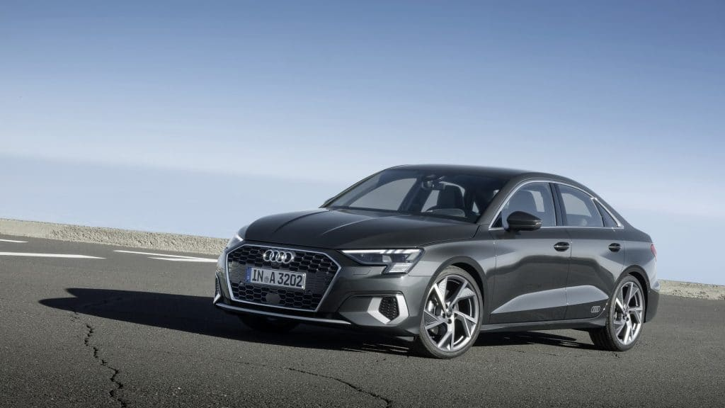 Audi A3 Berline statique avant