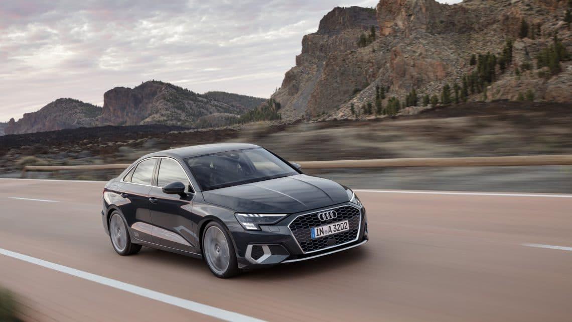 Audi A3 Berline grise