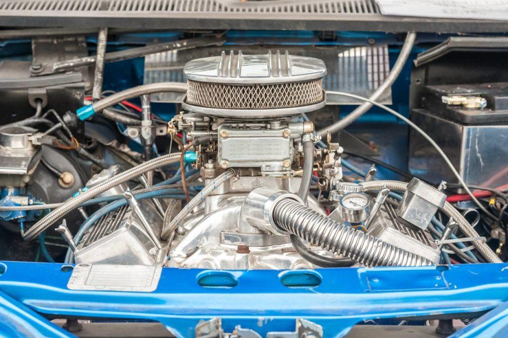 Un moteur qui vient d'être boosté avec une puce de reprogrammation