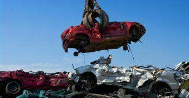La destruction d'un véhicule