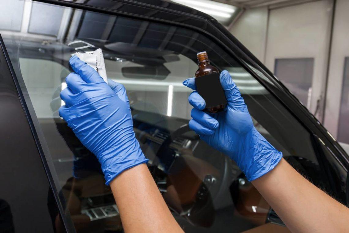 Le traitement céramique sur une voiture