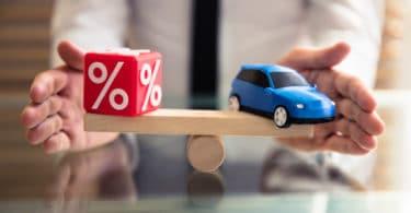 Les taux de crédit auto en 2021