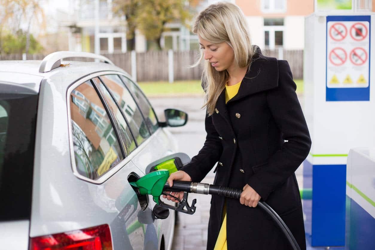 Une voiture qui roule au bioéthanol