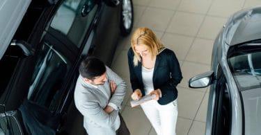 Une garantie proposée dans un centre automobile